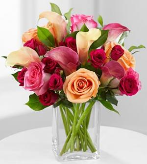 Hot Lady 1 Vase Arrangement in Northport, NY   Hengstenberg's Florist