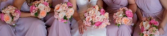 Hot pink inspiration  Wedding party