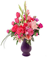 Hot Pink Jubilee Floral Design