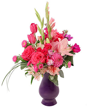 Hot Pink Jubilee Floral Design in Coalmont, TN | Rock Creek Florist