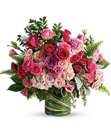 Hot pink medley valentines