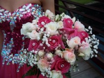 Hot Pink Prom Bouquet
