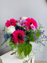 Hot pink  Vase Arrangement