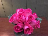 Hot Pinks  Prom Flowers