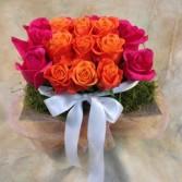 Hot Rose Tray