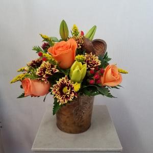 Hot-tober Bounty   in Port Huron, MI | CHRISTOPHER'S FLOWERS