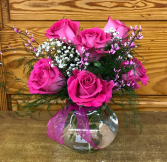 Hot Valentine Vase