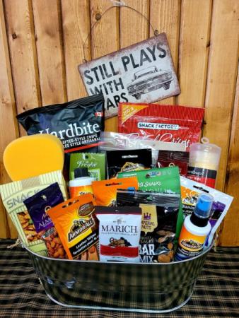 Hot Wheels Lover Gift Basket