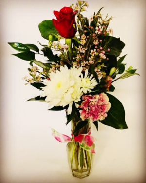 How Sweet Bud Vase Rose Mix in Plainview, TX | Kan Del's Floral, Candles & Gifts