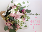 How Sweet It Is Hand Tied Bouquet