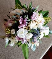 How Sweet it is junior bridesmaids bouquet
