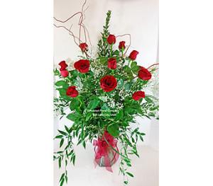 Hubbart Rose Arrangement fresh flower