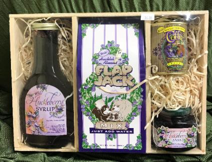 Huckleberry Breakfast Gourmet Gift Basket