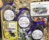 Huckleberry Sweets Gourmet Gift Basket