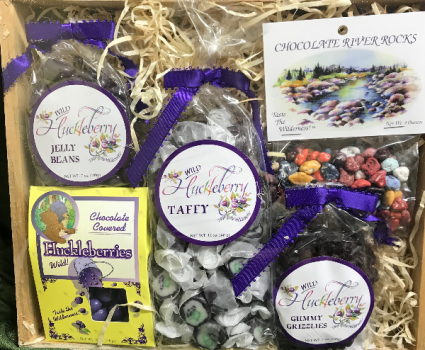 Huckleberry Sweets Gourmet Gift Basket
