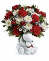 Hug Cuddle Bears Bouquet Hug® Cuddle Bears vase.