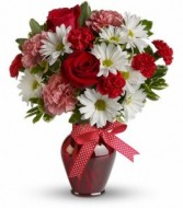 Hug your Valentine valentine bouquet