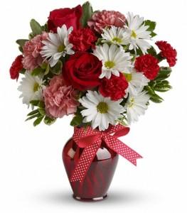 Hug your Valentine valentine bouquet