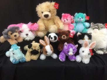 Huggable Friends Plush Toys