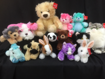 Huggables  plush toys
