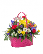 Hugs and Kisses Basket Mothers Day
