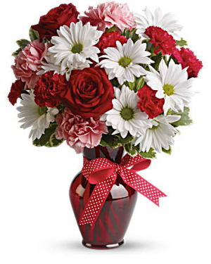 Hugs and Kisses Bouquet Anniversary  in East Templeton, MA | Valley Florist & Greenhouse