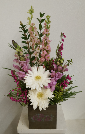 Hugs and Kisses Flower Arrangement