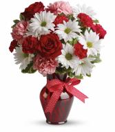 Hugs and Kisses Valentine bouquet