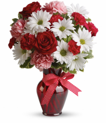 Hugs and Kisses Valentine bouquet
