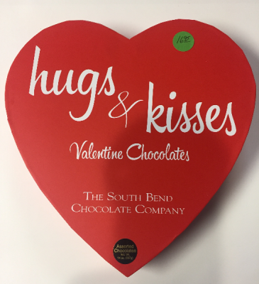 Hugs and Kisses Valentine Box Gift Chocolates