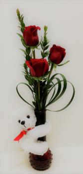 Hugs and Roses Rose Arrangement