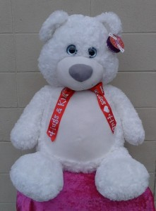 """""""Hugs & Kisses"""" Teddy Bear (local delivery only)"""