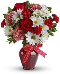 Hugs & Kisses Vase Arrangement