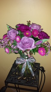 Hugs N Kisses  Round Vase Flower Delivery In DC