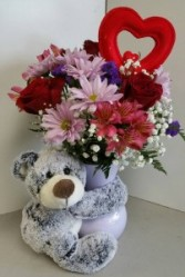 Hugs of Love Vase Arrangement