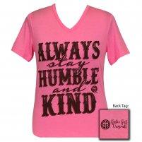 Humble and Kind Girlie Girl V-neck