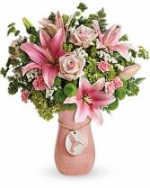 Humming Bird Keepsake vase