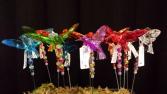 Hummingbird Plant Stakes Acrylic