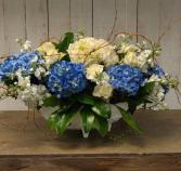 Hydrangea and Roses Custom