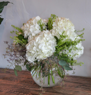 Hydrangea Dream Vased Arrangement  in Biloxi, MS | Rose's Florist