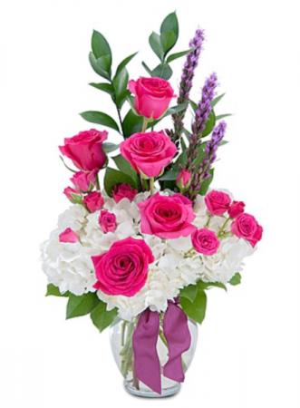 Hydrangea elegance  Vase