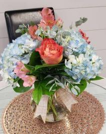 Hydrangea Garden Mix Vased Arrangement