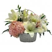 Hydrangea Heaven Basket Arrangement