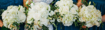 Hydrangea Inspiration  Wedding Party