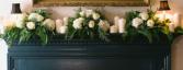 Hydrangea Mantel  Ceremony