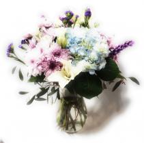 Hydrangea Mix Arrangement