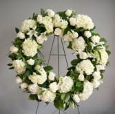 Hydrangea & Rose Wreath