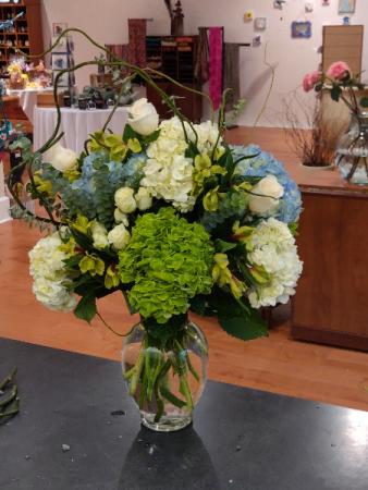 Hydrangea & Roses Custom