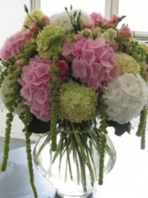 hydrangea Vase Arrangement