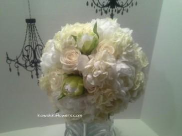hydrangeas garden roses bridal bouquet - Garden Rose And Hydrangea Bouquet